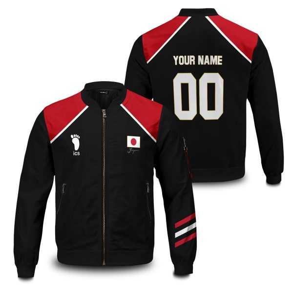 personalized haikyuu national team libero bomber jacket 360417 - Anime Jacket