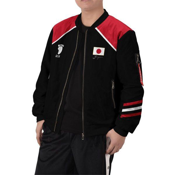 personalized haikyuu national team libero bomber jacket 458365 - Anime Jacket