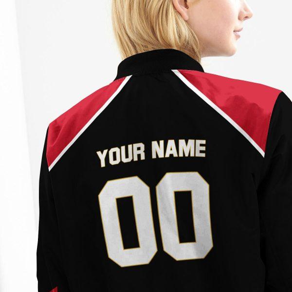 personalized haikyuu national team libero bomber jacket 486575 - Anime Jacket