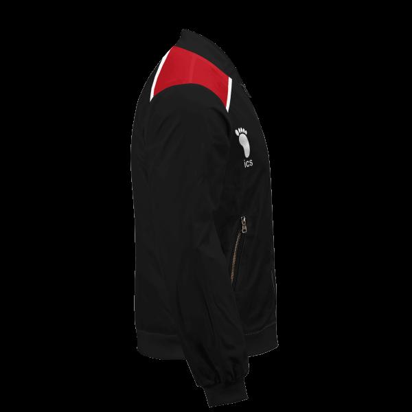 personalized haikyuu national team libero bomber jacket 660402 - Anime Jacket