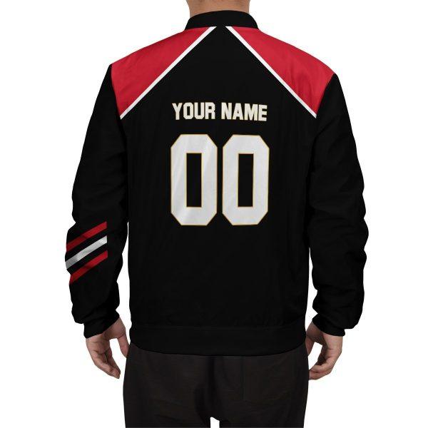 personalized haikyuu national team libero bomber jacket 678774 - Anime Jacket