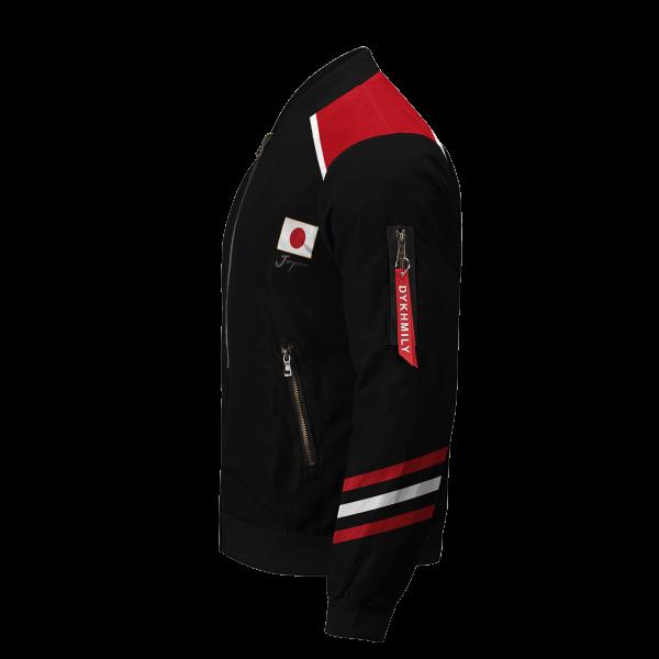 personalized haikyuu national team libero bomber jacket 750271 - Anime Jacket