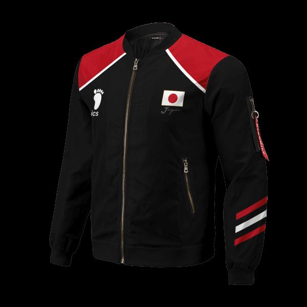 personalized haikyuu national team libero bomber jacket 791188 - Anime Jacket