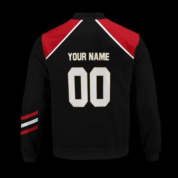 personalized haikyuu national team libero bomber jacket 853216 - Anime Jacket