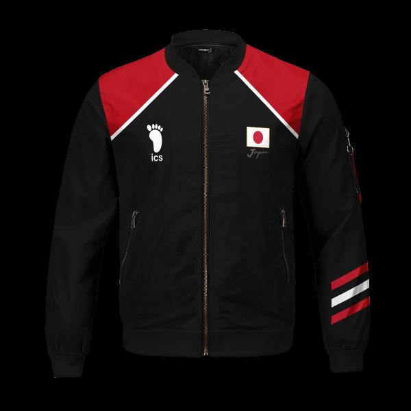 personalized haikyuu national team libero bomber jacket 966935 - Anime Jacket