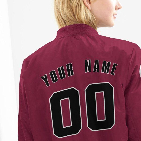 personalized haruno clan bomber jacket 161241 - Anime Jacket