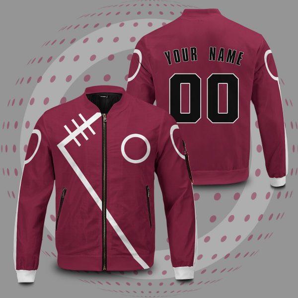 personalized haruno clan bomber jacket 925929 - Anime Jacket