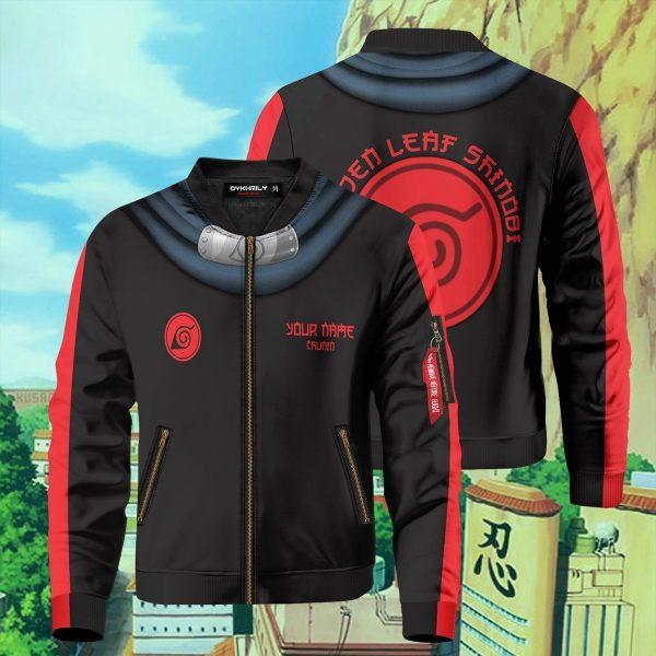 personalized hidden leaf shinobi bomber jacket 820443 - Anime Jacket