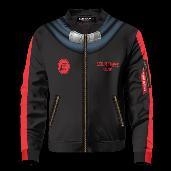 personalized hidden leaf shinobi bomber jacket 948235 - Anime Jacket