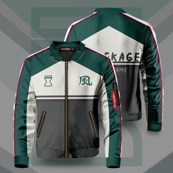 personalized hidden sand kazekage bomber jacket 706463 - Anime Jacket