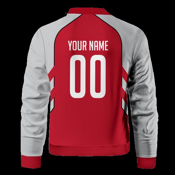 personalized houston pizza planet bomber jacket 333577 - Anime Jacket