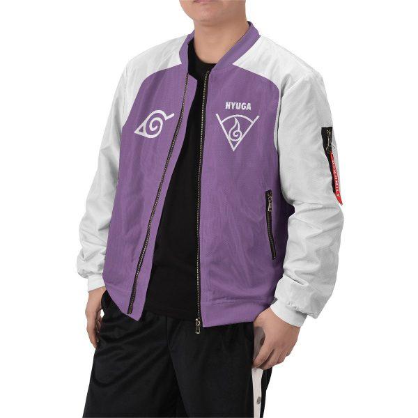 personalized hyuga clan bomber jacket 528588 - Anime Jacket