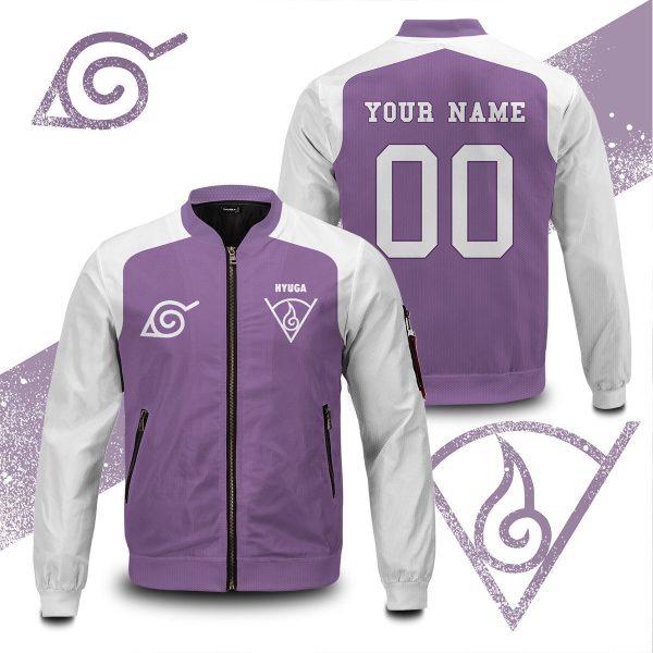 personalized hyuga clan bomber jacket 864484 - Anime Jacket