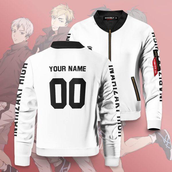 personalized inarizaki libero bomber jacket 152916 - Anime Jacket