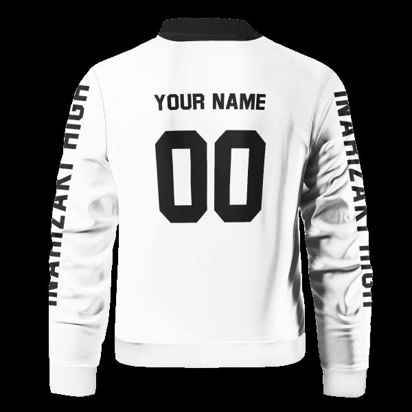 personalized inarizaki libero bomber jacket 828499 - Anime Jacket