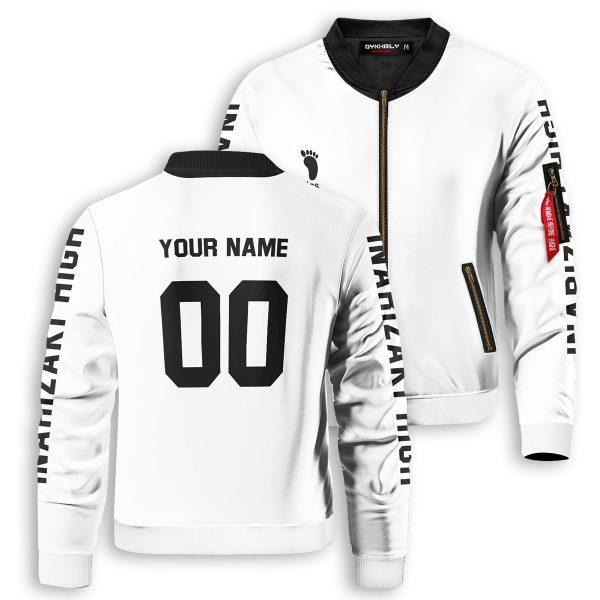 personalized inarizaki libero bomber jacket 829375 - Anime Jacket