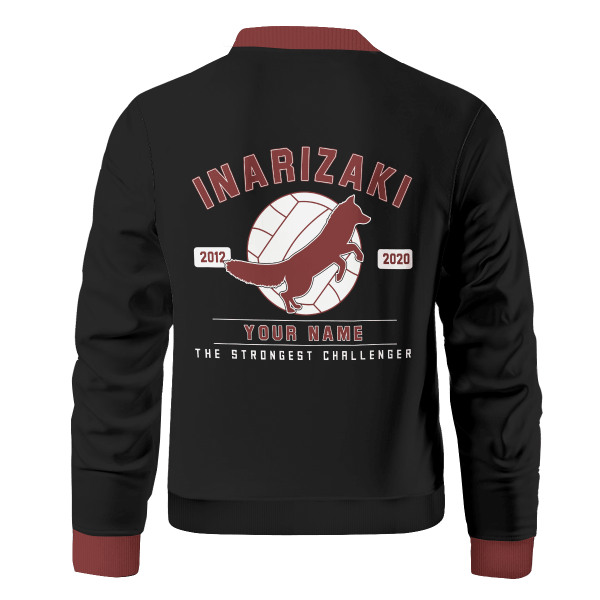 personalized inarizaki the strongest challenger bomber jacket 232274 - Anime Jacket