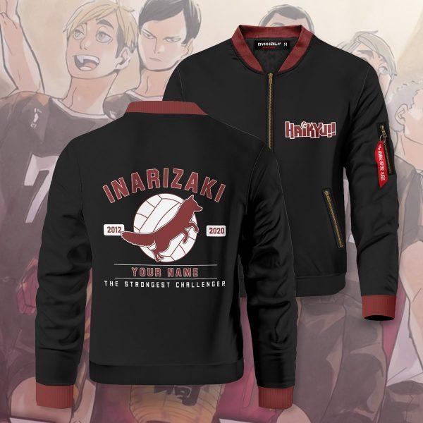 personalized inarizaki the strongest challenger bomber jacket 825432 - Anime Jacket