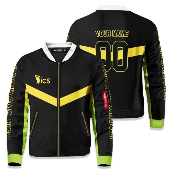 personalized itachiyama libero bomber jacket 631243 - Anime Jacket
