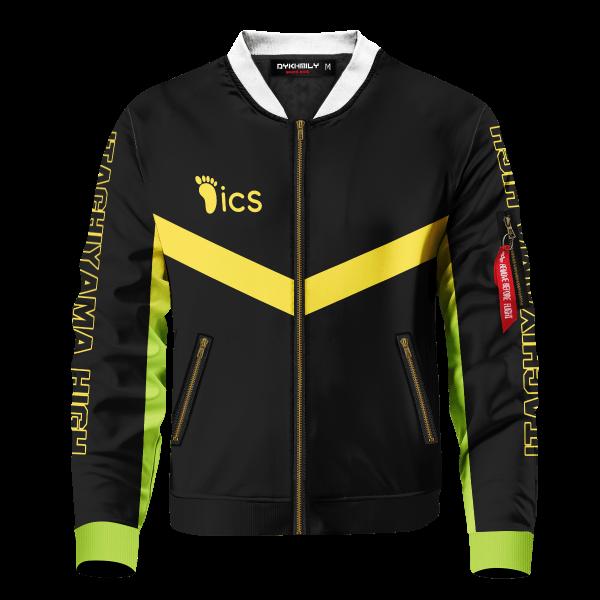personalized itachiyama libero bomber jacket 693657 - Anime Jacket