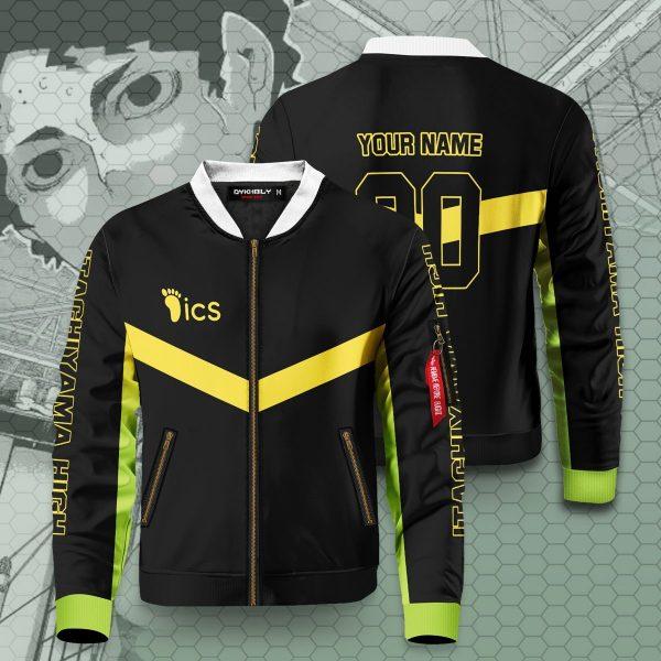 personalized itachiyama libero bomber jacket 867183 - Anime Jacket