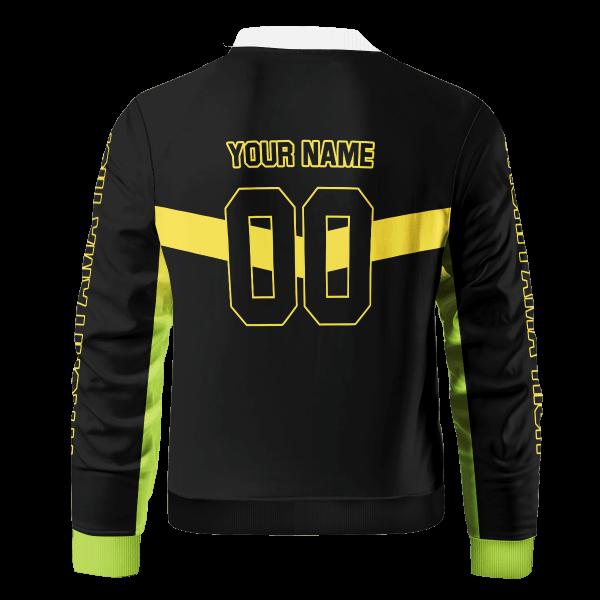 personalized itachiyama libero bomber jacket 913009 - Anime Jacket