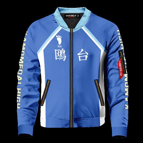 personalized kamomedai libero bomber jacket 382531 - Anime Jacket