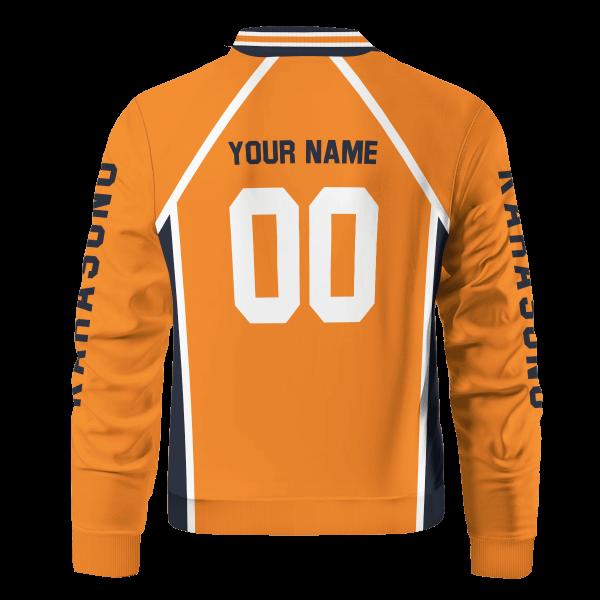 personalized karasuno libero bomber jacket 878983 - Anime Jacket