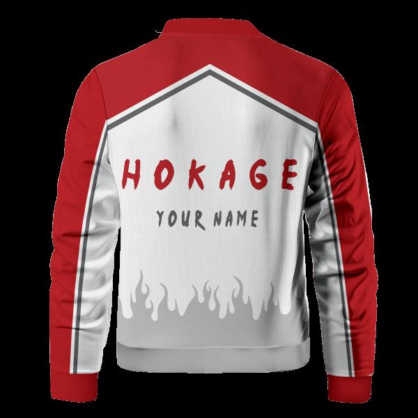 personalized konoha hokage bomber jacket 237079 - Anime Jacket