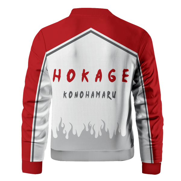 personalized konoha hokage bomber jacket 335392 - Anime Jacket