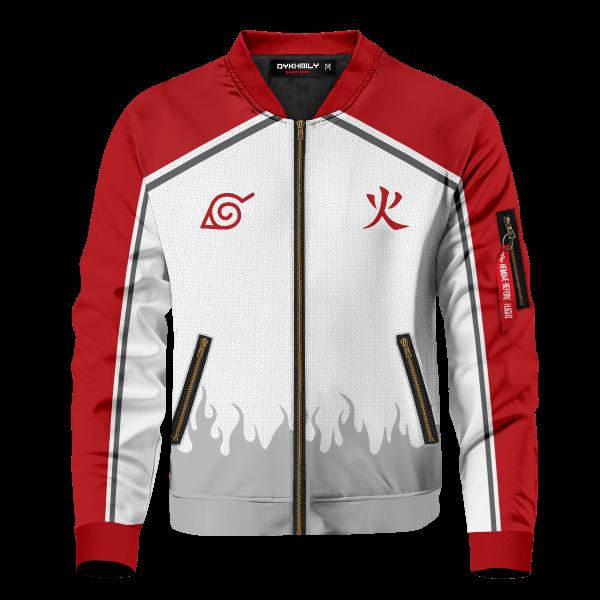 personalized konoha hokage bomber jacket 359391 - Anime Jacket