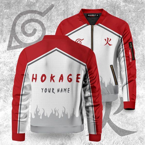 personalized konoha hokage bomber jacket 838920 - Anime Jacket