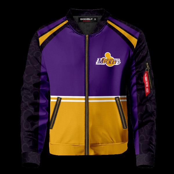 personalized los angeles mickeys bomber jacket 186849 - Anime Jacket