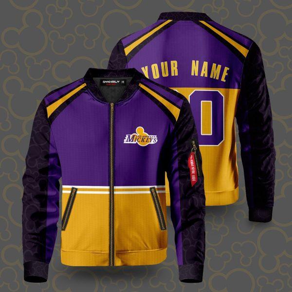 personalized los angeles mickeys bomber jacket 849277 - Anime Jacket
