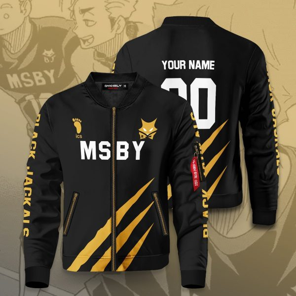 personalized msby black jackals bomber jacket 391670 - Anime Jacket