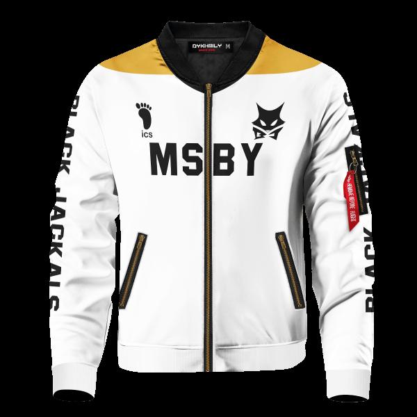 personalized msby black jackals libero bomber jacket 132788 - Anime Jacket