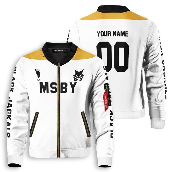 personalized msby black jackals libero bomber jacket 450278 - Anime Jacket