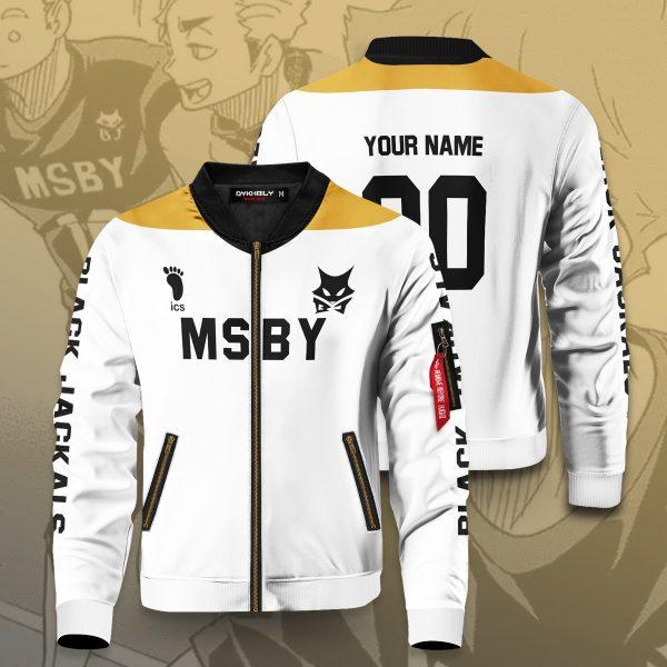 personalized msby black jackals libero bomber jacket 588676 - Anime Jacket