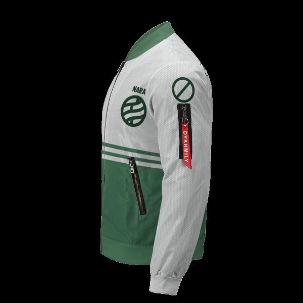 personalized nara clan bomber jacket 123485 - Anime Jacket
