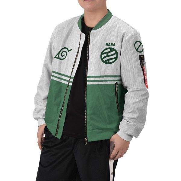 personalized nara clan bomber jacket 344836 - Anime Jacket