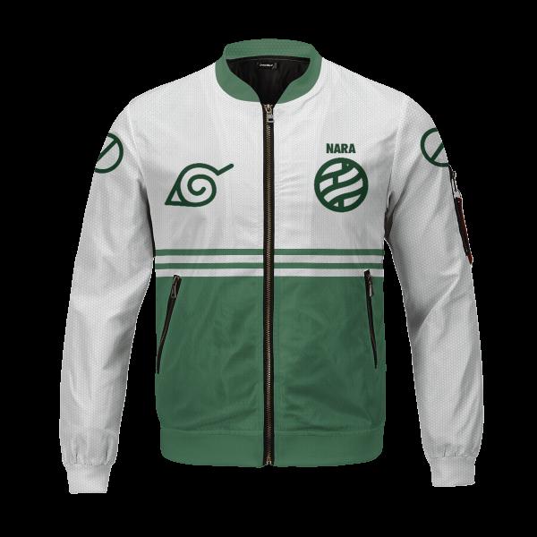personalized nara clan bomber jacket 616756 - Anime Jacket