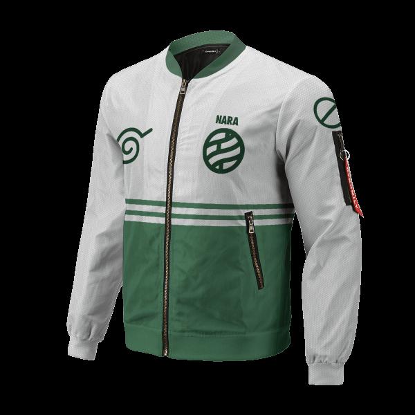 personalized nara clan bomber jacket 774451 - Anime Jacket
