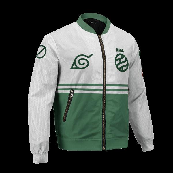 personalized nara clan bomber jacket 839990 - Anime Jacket