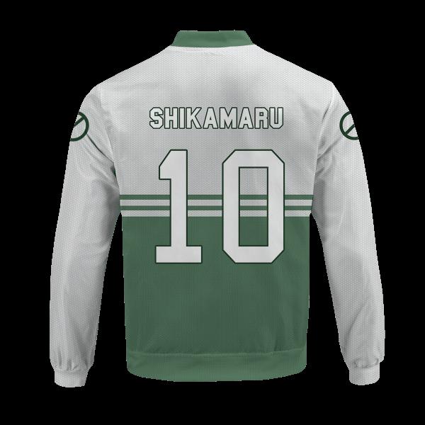 personalized nara clan bomber jacket 991220 - Anime Jacket