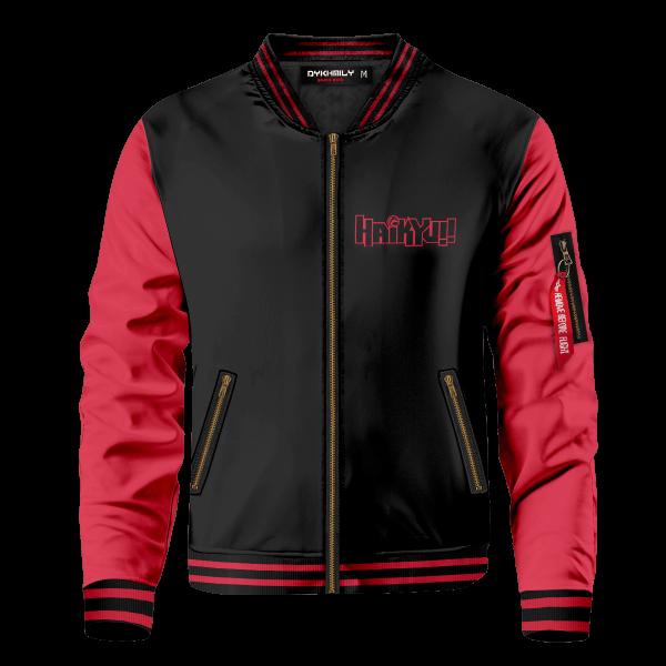 personalized nekoma constantly flowing bomber jacket 437444 - Anime Jacket