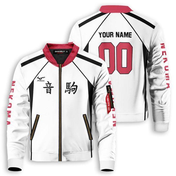 personalized nekoma libero bomber jacket 390161 - Anime Jacket