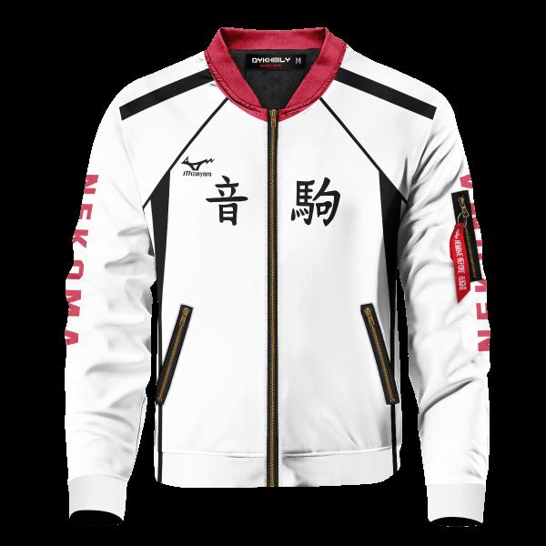personalized nekoma libero bomber jacket 626066 - Anime Jacket