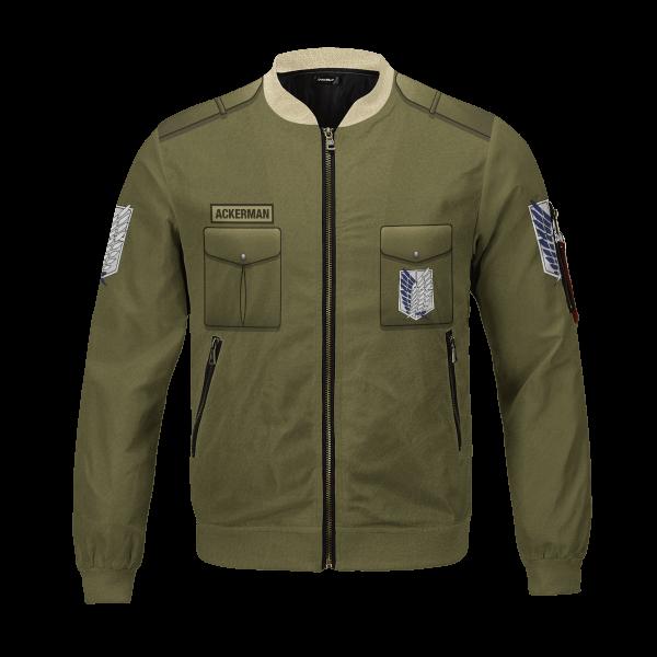 personalized new survey corps uniform bomber jacket 202644 - Anime Jacket