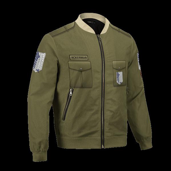 personalized new survey corps uniform bomber jacket 246772 - Anime Jacket