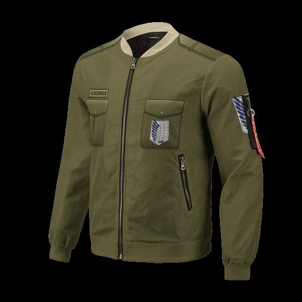 personalized new survey corps uniform bomber jacket 489767 - Anime Jacket
